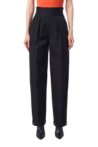 Pantalon en laine compacte
