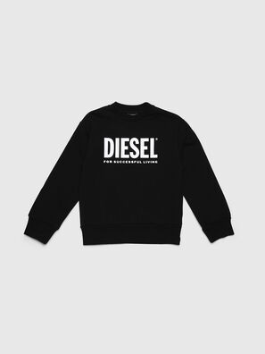 SCREWDIVISION-LOGO O, Noir - Pull Cotton