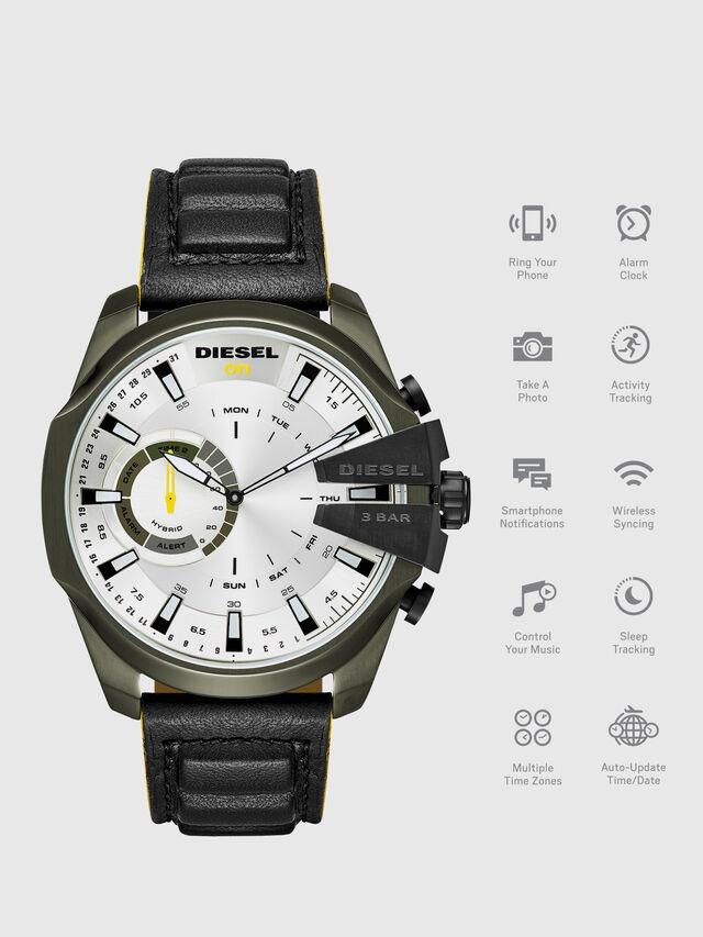 Diesel - DT1012, Noir - Smartwatches - Image 1