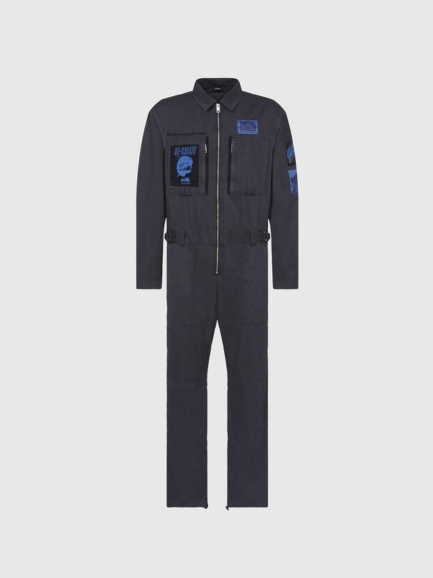 P-LARRY, Gris foncé - Pantalons