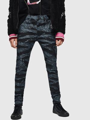 D-Amny 0091R, Bleu Foncé - Jeans