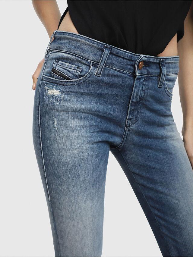 Diesel - Slandy 084MU, Bleu moyen - Jeans - Image 3