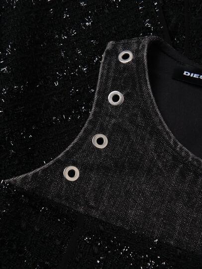 Diesel - DNAKELLA, Noir - Robes - Image 3