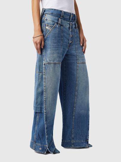 Diesel - D-Laly 0AFAM, Bleu moyen - Jeans - Image 7