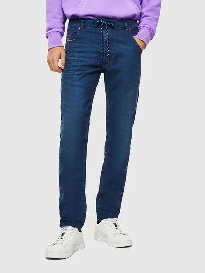 Diesel - Krooley JoggJeans 0098H, Bleu moyen - Jeans - Image 1