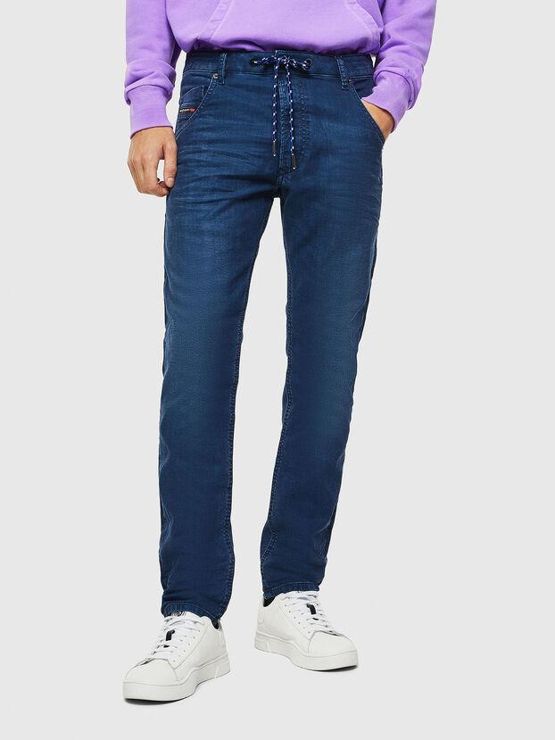 Krooley JoggJeans 0098H, Bleu moyen - Jeans