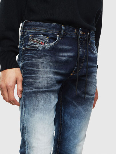 Diesel - Thommer JoggJeans 069KD, Bleu Foncé - Jeans - Image 3
