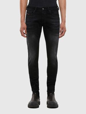 Sleenker 0092B, Noir/Gris foncé - Jeans