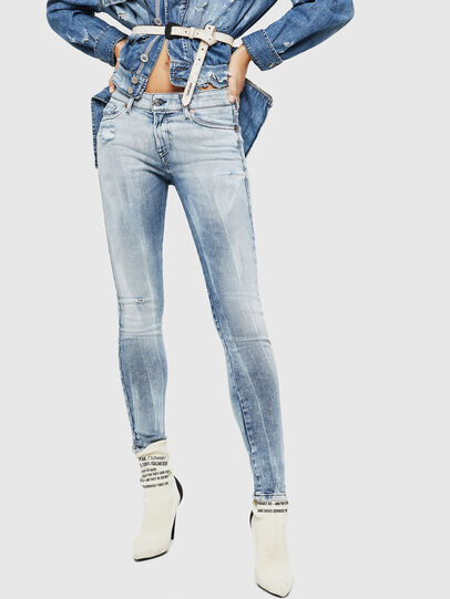 Diesel - Slandy 083AR, Bleu Clair - Jeans - Image 1