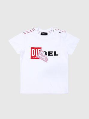 TOQUEB MC, Blanc - T-shirts et Hauts