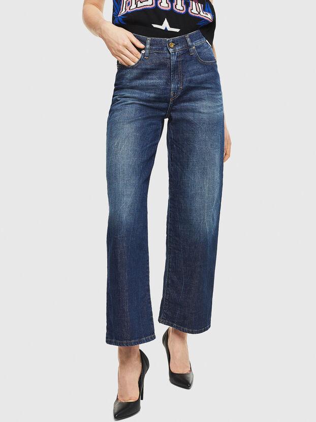 Widee 0090W, Bleu Foncé - Jeans