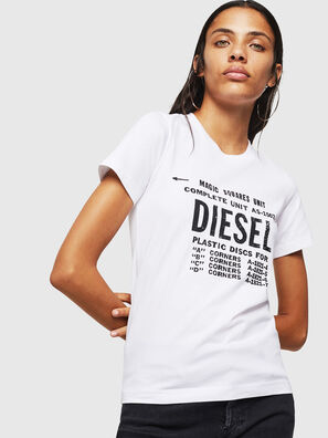 T-SILY-ZF, Blanc - T-Shirts