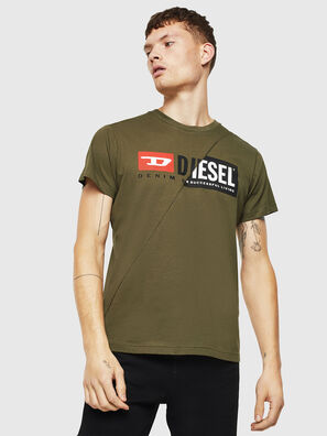 T-DIEGO-CUTY, Vert Militaire - T-Shirts