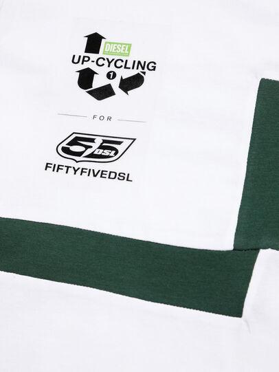 Diesel - D-FRANKENSTEIN 2.1, Blanc/Vert - T-Shirts - Image 4