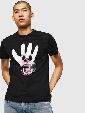 T-DIEGO-B18, Noir - T-Shirts