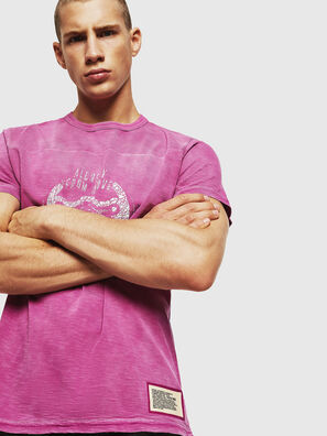 T-DIEGO-CUT-AA, Rose - T-Shirts