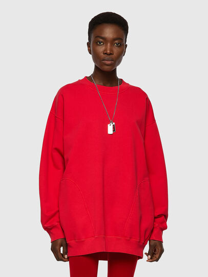 Diesel - F-EXA, Rouge - Pull Cotton - Image 1