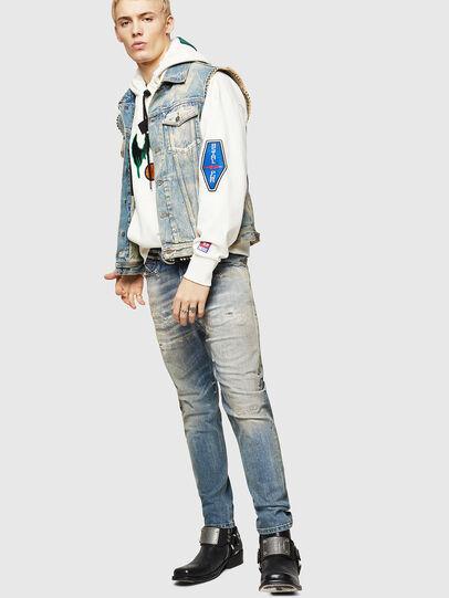 Diesel - D-Vider 084AQ, Bleu Clair - Jeans - Image 6