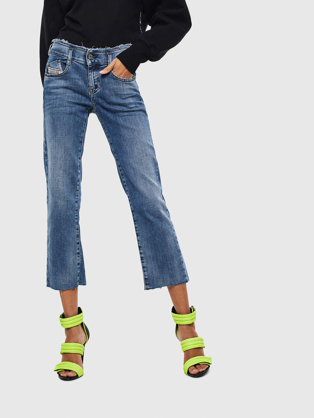 D-Ebbey 009AA, Bleu moyen - Jeans