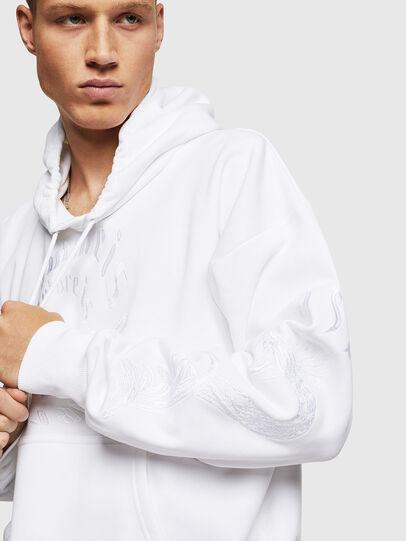 Diesel - S-ALBY-B5, Blanc - Pull Cotton - Image 3