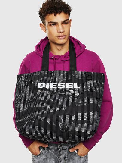 Diesel - D-THISBAG SHOP M, Noir - Cabas et Sacs d'Épaule - Image 8