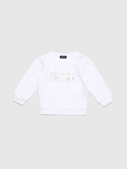 Diesel - SRALLYB-R, Blanc - Pull Cotton - Image 1