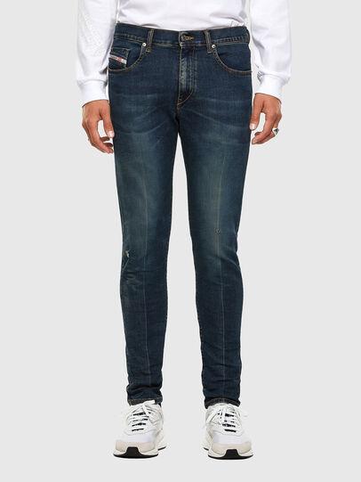 Diesel - D-Strukt 0093J, Bleu Foncé - Jeans - Image 1