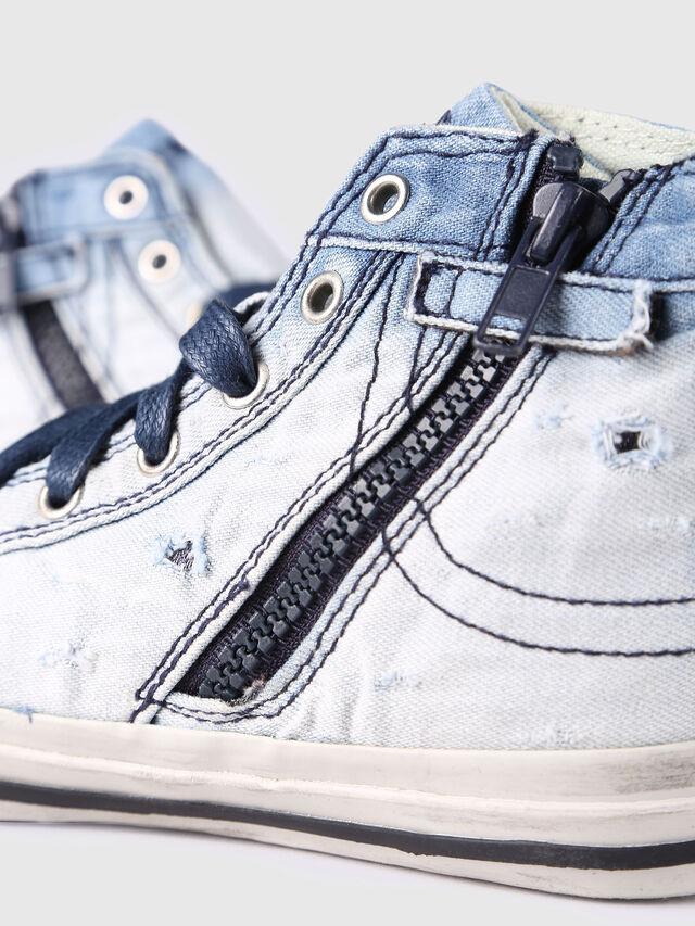 Diesel - SN MID 20 EXPOSURE Y, Bleu Clair - Footwear - Image 4