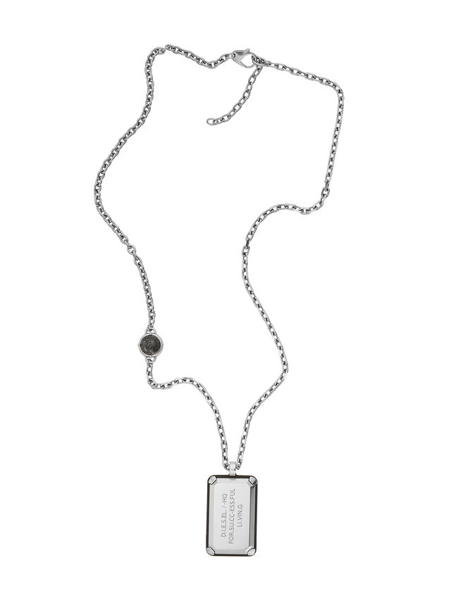 NECKLACE DX1019, Argent