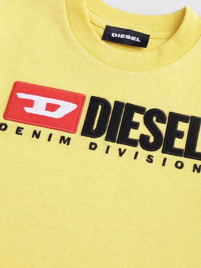 Diesel - TJUSTDIVISIONB-R, Jaune - T-shirts et Hauts - Image 3