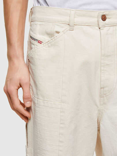 Diesel - D-FRAN-SP1, Blanc - Pantalons - Image 3