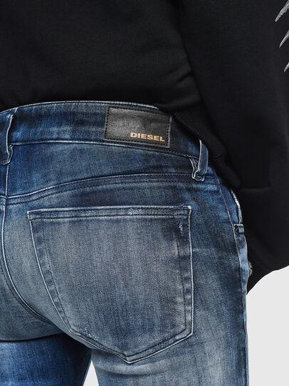 Diesel - Slandy Low 0095C, Bleu moyen - Jeans - Image 4