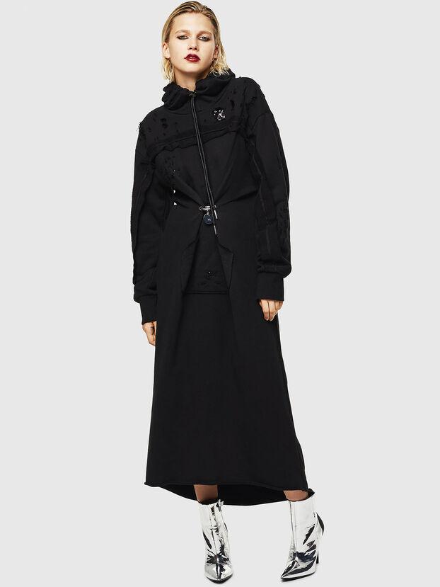 D-ILSE-ROUCHE-A, Noir - Robes