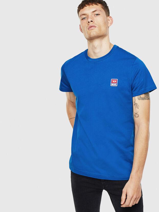 T-DIEGO-DIV, Bleu - T-Shirts