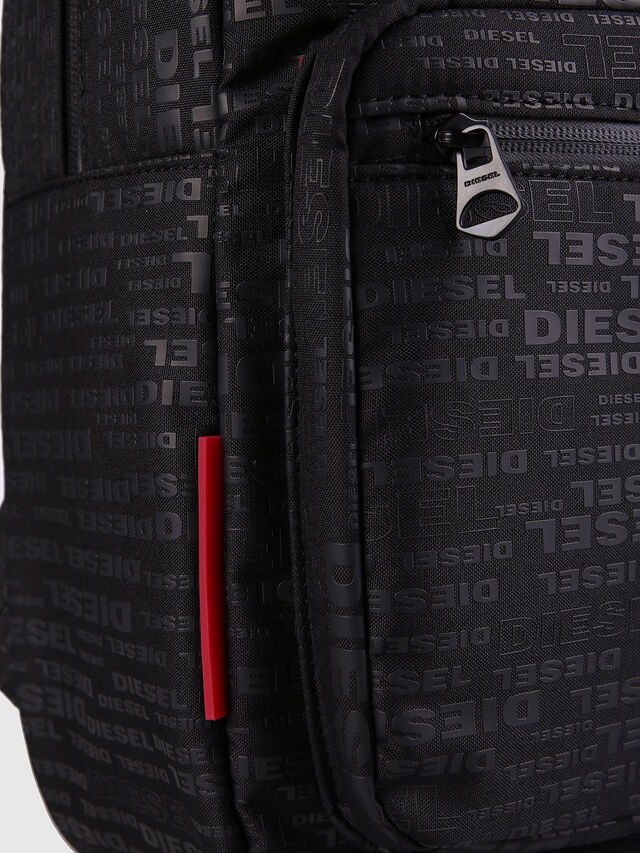 Diesel - F-DISCOVER BACK, Noir/Rouge - Sacs à dos - Image 5