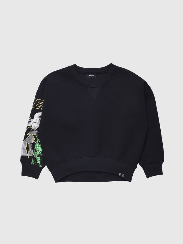 SFEMS, Noir - Pull Cotton