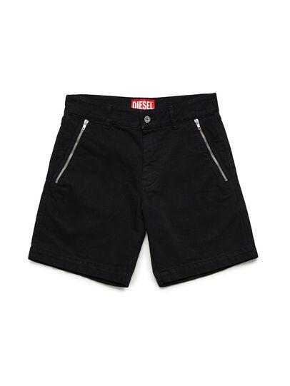 Diesel - GR02-P303, Noir - Shorts - Image 1