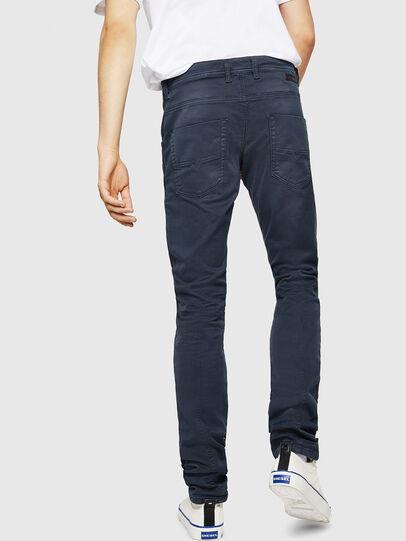 Diesel - Krooley Long JoggJeans 0670M, Bleu Foncé - Jeans - Image 2