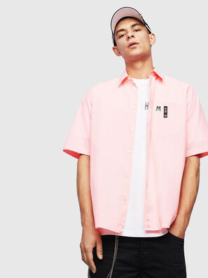 S-FRY-FLUO, Rose - Chemises