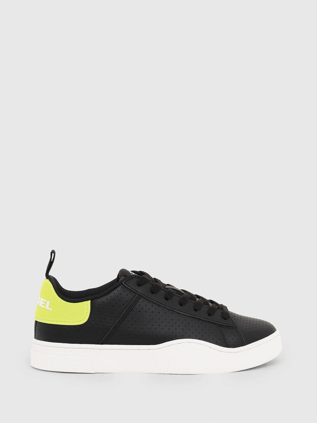 S-CLEVER LOW LACE W, Noir/Jaune - Baskets