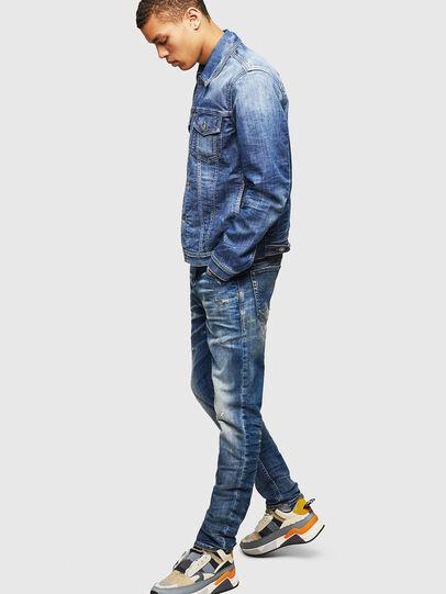 Diesel - Thommer JoggJeans 0870Q, Bleu moyen - Jeans - Image 6