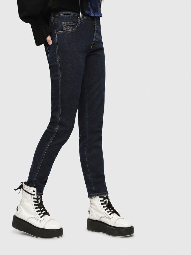 Diesel - Babhila 084YD, Bleu Foncé - Jeans - Image 1
