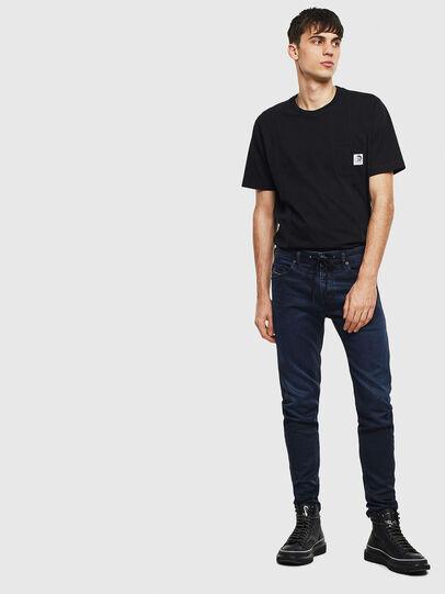 Diesel - Thommer JoggJeans 069MG, Bleu Foncé - Jeans - Image 6