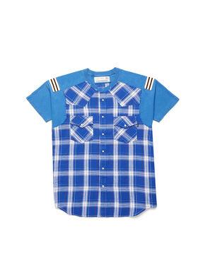 D-WESTERNSPORT, Bleu Clair - T-Shirts