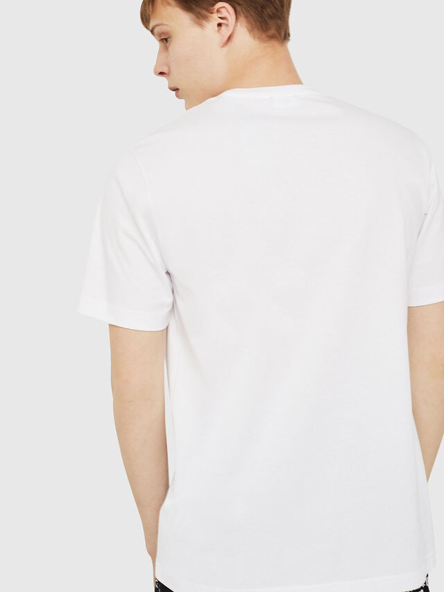 Diesel - T-JUST-Y16, Blanc - T-Shirts - Image 2