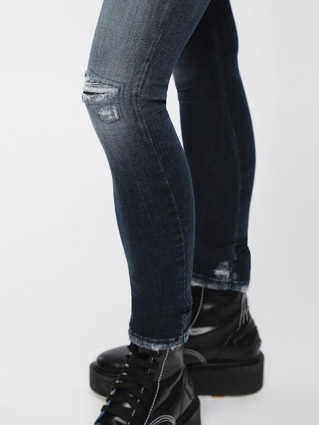 Diesel - Slandy 084ZD, Bleu Foncé - Jeans - Image 3