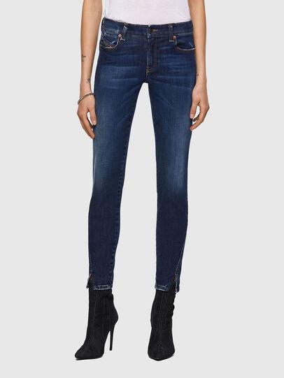 Diesel - D-Jevel 09A30, Bleu Foncé - Jeans - Image 1
