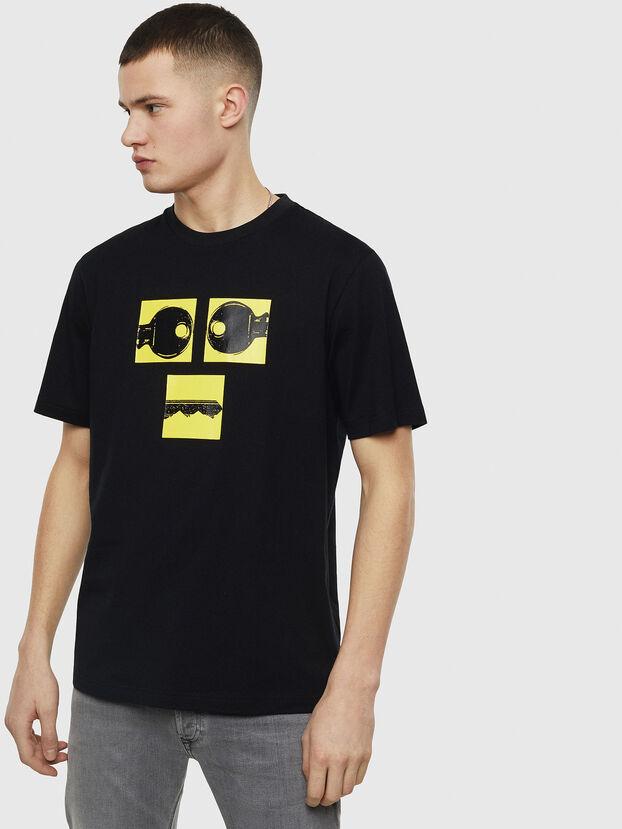 T-JUST-T23, Noir - T-Shirts