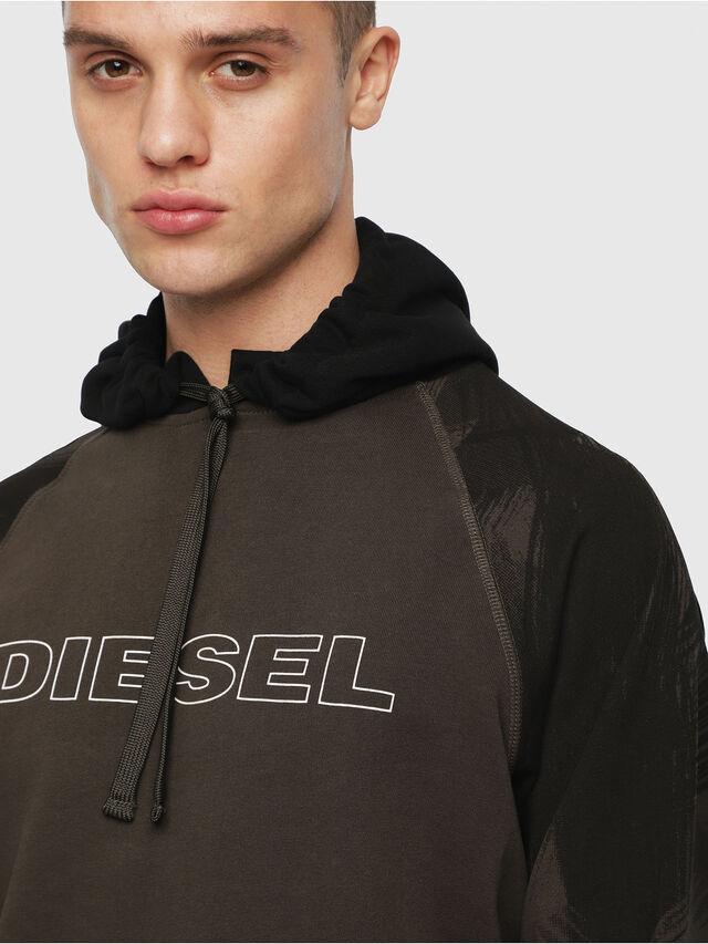 Diesel - UMLT-BRIAN, Vert Militaire - Pull Cotton - Image 3