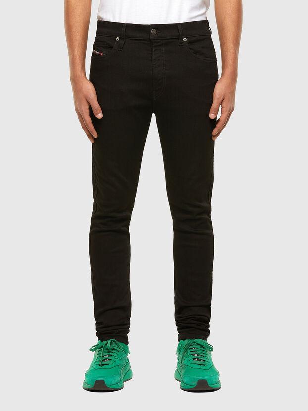 D-Istort 069EF, Noir/Gris foncé - Jeans